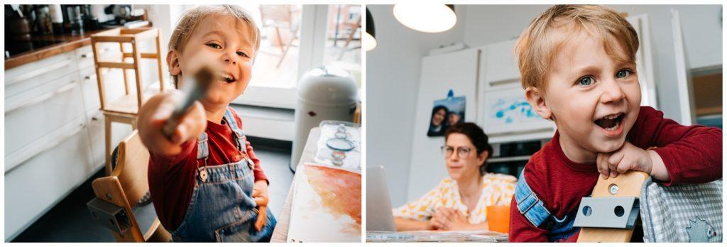 schwieriges arbeiten für Mütter im Homeoffice Coroan 2021